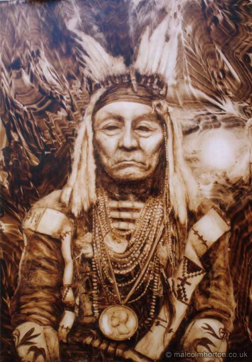 Geronimo Native American Indian